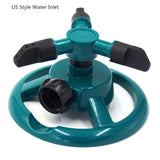 Blue 360 Auto-Rotating Sprinkler
