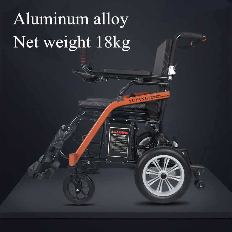 foldable lightweight electric wheelchair