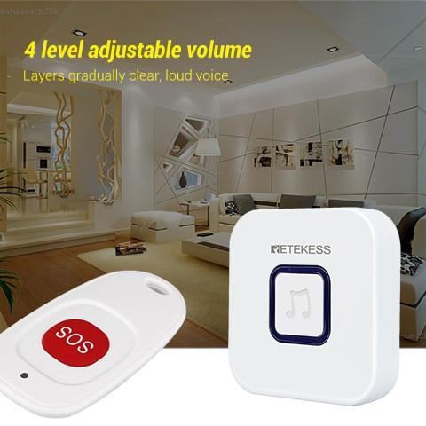 Caregiver Wireless SOS Pager