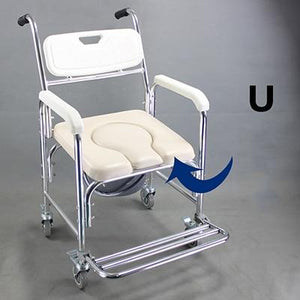 Elderly Bath Aid heavy Mobile Toilet Seat