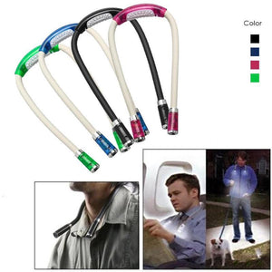 Portable LED Handsfree Neck light