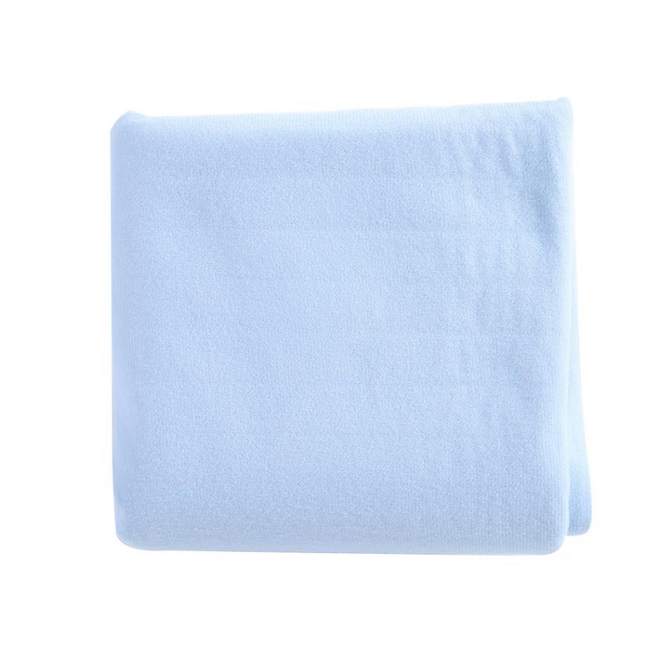 the inside fabric of the Elderly Incontinence Reusable Waterproof Bed Pad. Comfortable and absorbent.