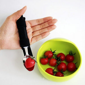 Flexible Strap-on Cutlery Spoon