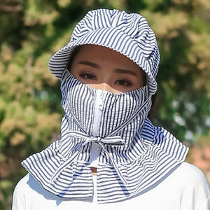 Hat Multi Function Anti-UV Summer Hat (With Mask)