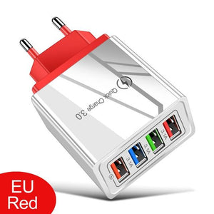 EU/US USB Quick Charge Plug