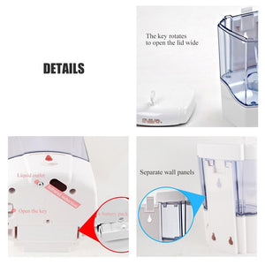 600ml Smart Liquid Soap Dispenser