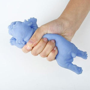 Silicone Bulldog Stress Ball
