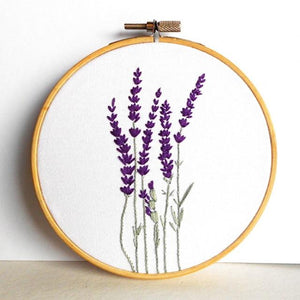 DIY Flower Cross Stitch Kit
