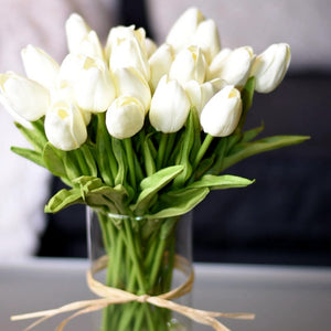 10PCS Artificial Tulip Bouquet