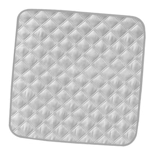 Elderly Incontinence Reusable Chair Pad in the color grey.