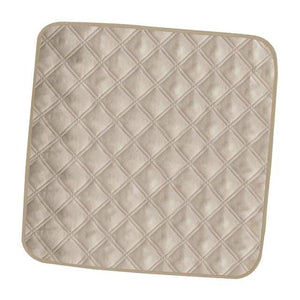 Elderly Incontinence Reusable Chair Pad in the color beige.