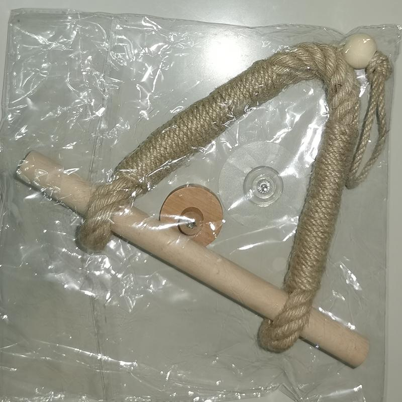 Vintage Rope Toilet Paper Holder