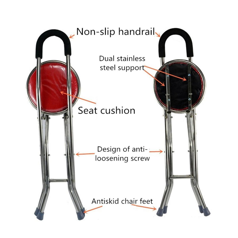 Portable Folding Chair (up to 150kg)
