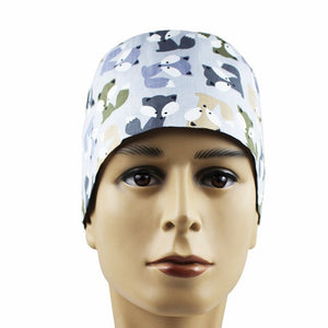 Medical Scrub Hat and Mask