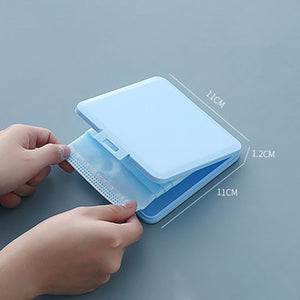 Portable Mask Box Plastic Face Mask Storage Case Boite Rangement Masque Dust Moisture Proof Kids Student Cajas Mascarillas