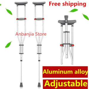 Aluminum Adjustable Crutches