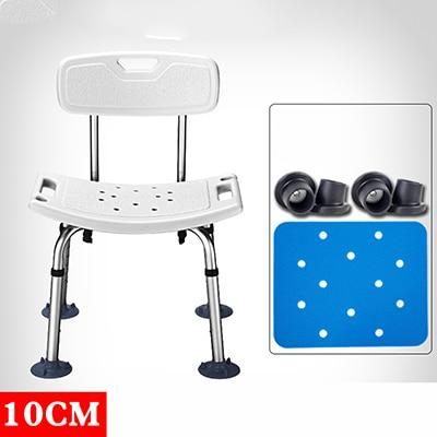 Elderly Bath Aid heavy duty Shower Seat with backrest