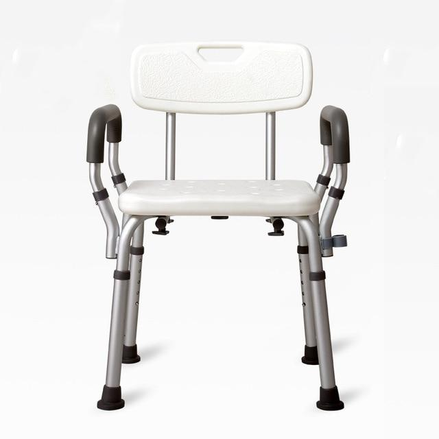 Elderly Bath Aid heavy duty Shower Seat with armrest and backrest