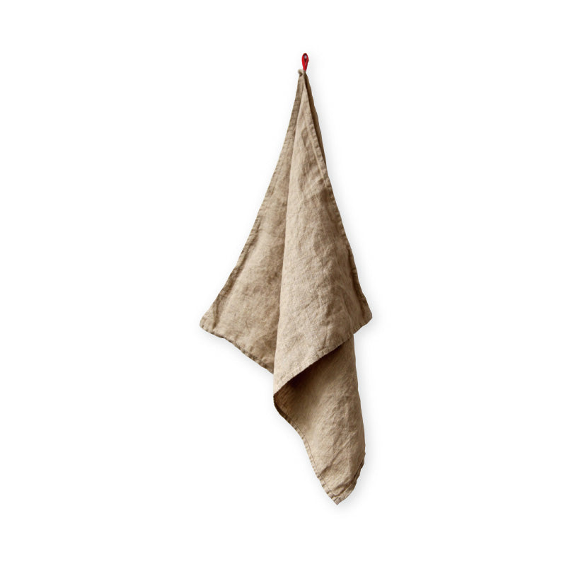 Linen Kitchen Towel Straw