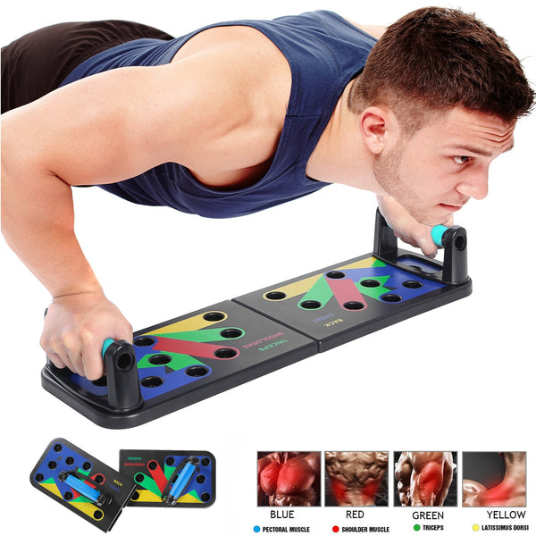 9 in 1 Body Building Push Up Board