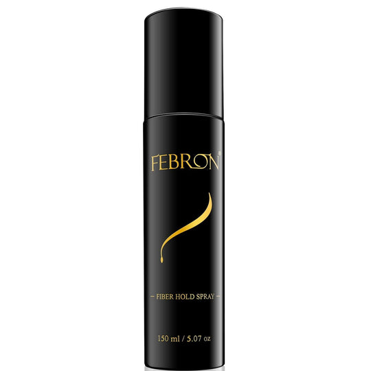 Febron Fiberhold Spray 150ml size (5-10 months supply) STRONG HOLDING For all Hair Types