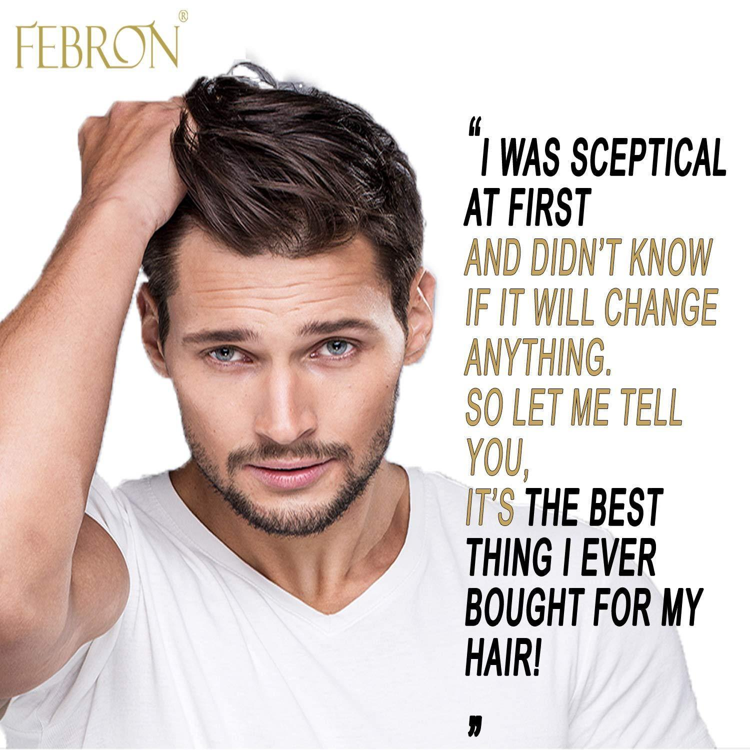 Febron 3 IN 1 Hair Loss Capsules Pack For Healthier Stronger Follicles