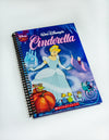 Vintage Book Cover Journal: Hardcover Cinderella Blue
