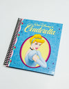 Vintage Book Cover Journal: Hardcover Cinderella Cameo