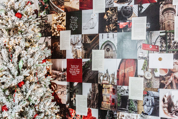 CHRISTMAS AT THE CASTLE COLLAGE WALL KIT