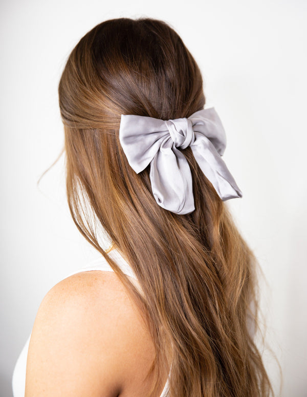 Stag Satin Bow
