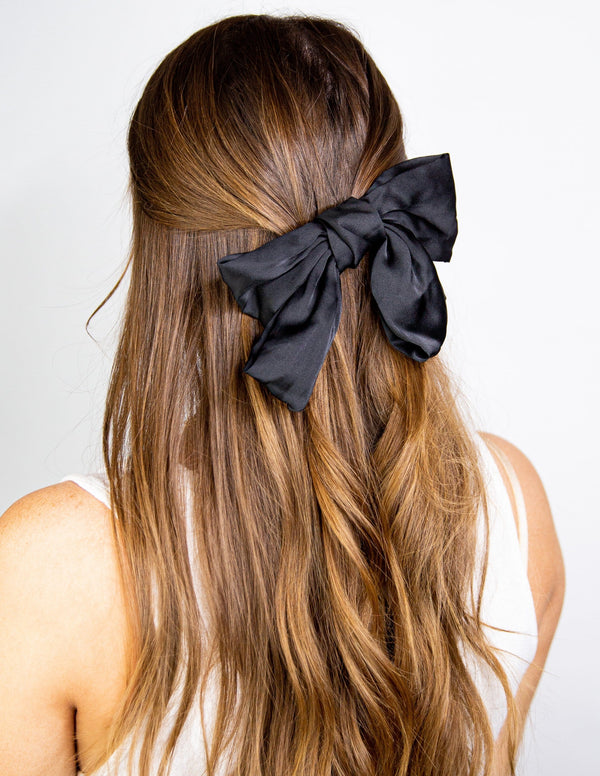 Riddle Satin Bow