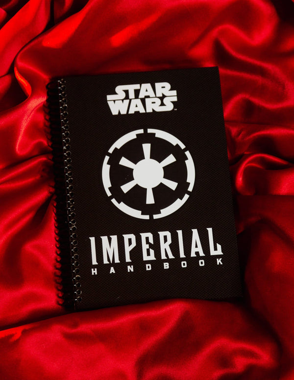 Recycled Book Cover Journal: The Imperial Handbook