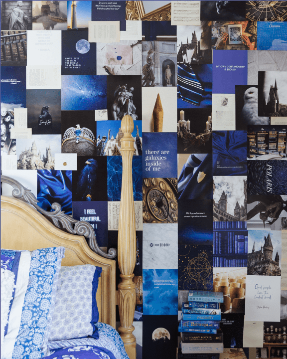 CLEVER AESTHETIC WIZARD WALL COLLAGE KIT