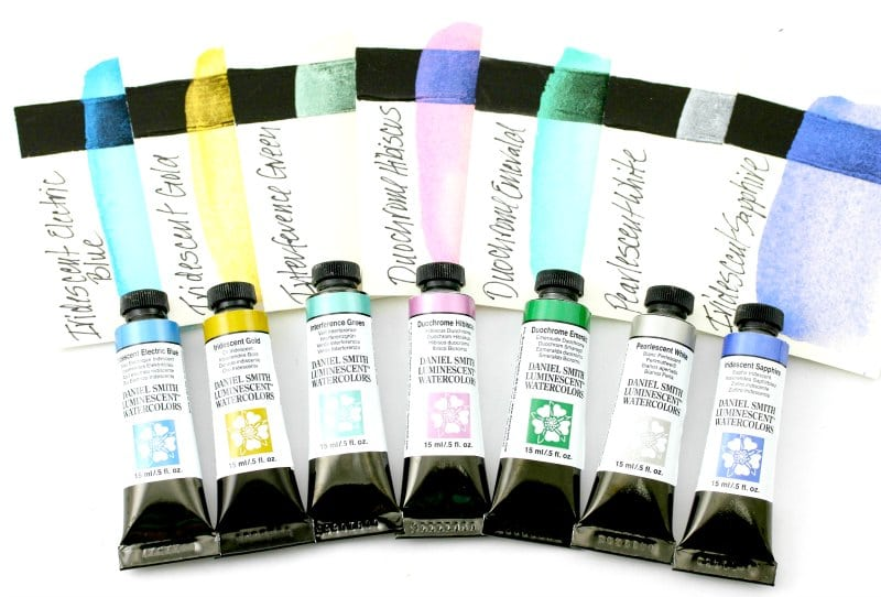 Daniel Smith Luminescent & Duochrome Watercolours, 15 ml