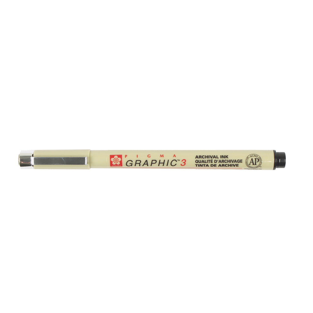 Sakura Pigma Graphic Pen, Black