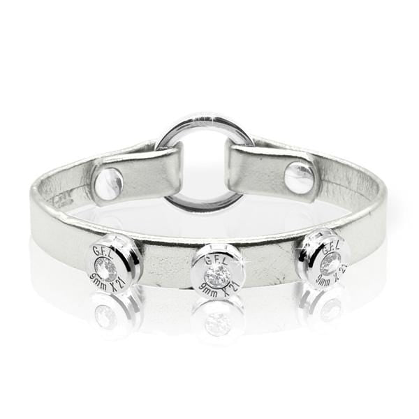 BRACCIALE LAME' ARGENTO - 9MM JEWELRY