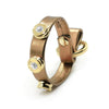 BRACCIALE LAME' BRONZO - 9MM JEWELRY