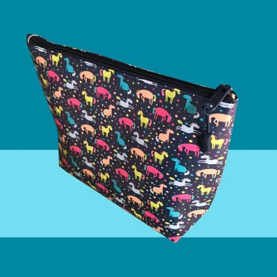 Dreamers & Schemers Zippered Totes - Polka Dot Horses
