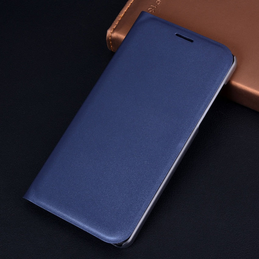 Flip Cover Leather Phone Case For Samsung Galaxy