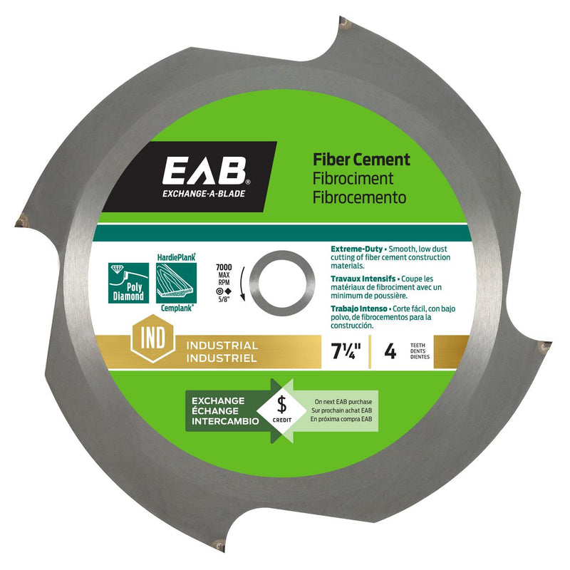 7-1/4-inch-x-4-Teeth-Carbide-Fiber-Cement-Industrial-Saw-Blade-Exchangeable-Exchange-A-Blade