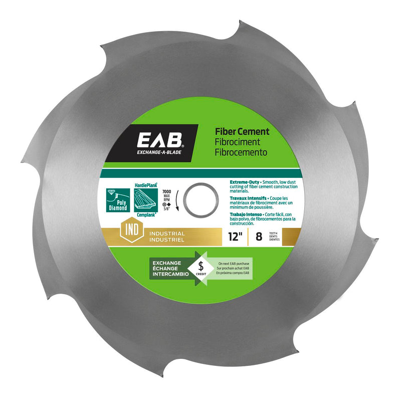 12-inch-x-8-Teeth-Carbide-Fiber-Cement-Industrial-Saw-Blade-Exchangeable-Exchange-A-Blade