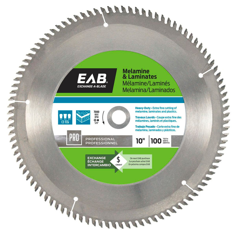 10-inch-x-100-Teeth-Carbide-Melamine-Professional-Saw-Blade-Exchangeable-Exchange-A-Blade