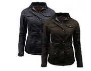 The Morgan: Women's Antique Waxed Jacket - WaxKraft