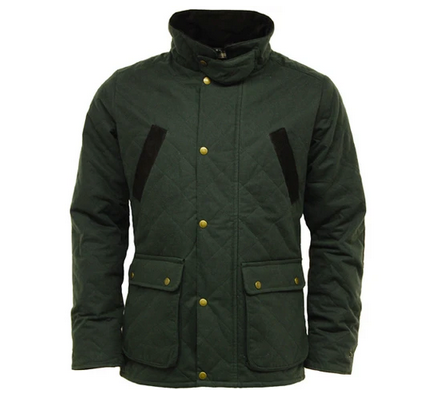 The Oxshire-Quilt: Quilted Wax Jacket - WaxKraft