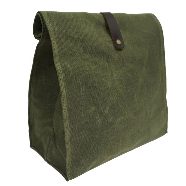 Lunch Bag Plastic-Free Waterproof Lunch Box - WaxKraft