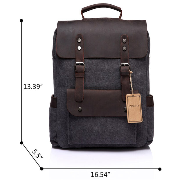 Laptop Backpack Travel Leisure Casual - WaxKraft