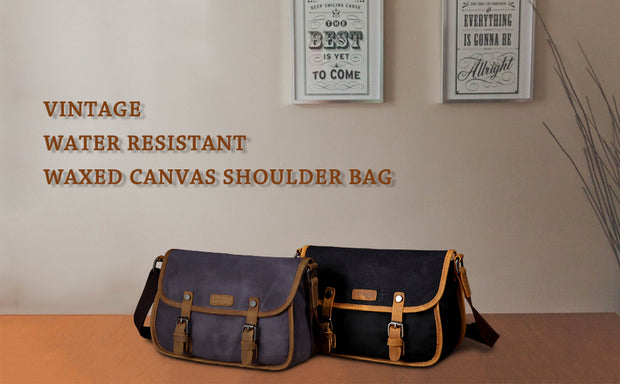 Crossbody Messenger Bag for Women. - WaxKraft
