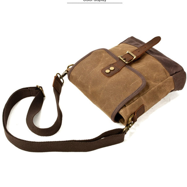 Class of its own Man-bag! Beautiful heritage - WaxKraft