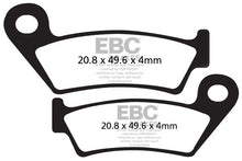 Load image into Gallery viewer, EBC - CFA242 Green Brake Pads
