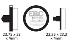 Load image into Gallery viewer, EBC - CFA290 Green Brake Pads